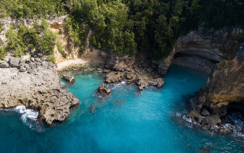 anse castalia crique sauvage Guadeloupe