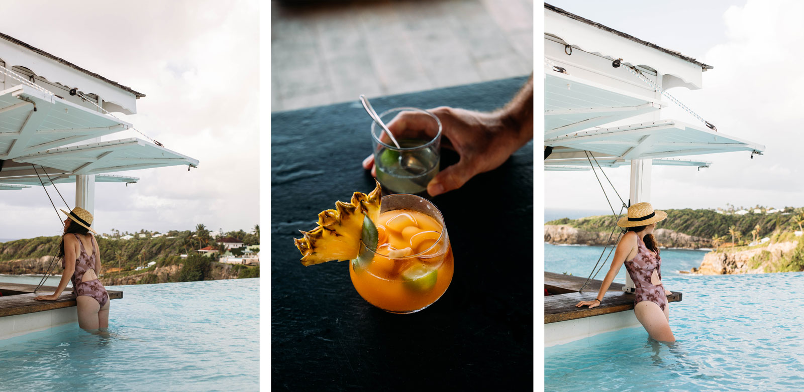 bar rooftop piscine Guadeloupe