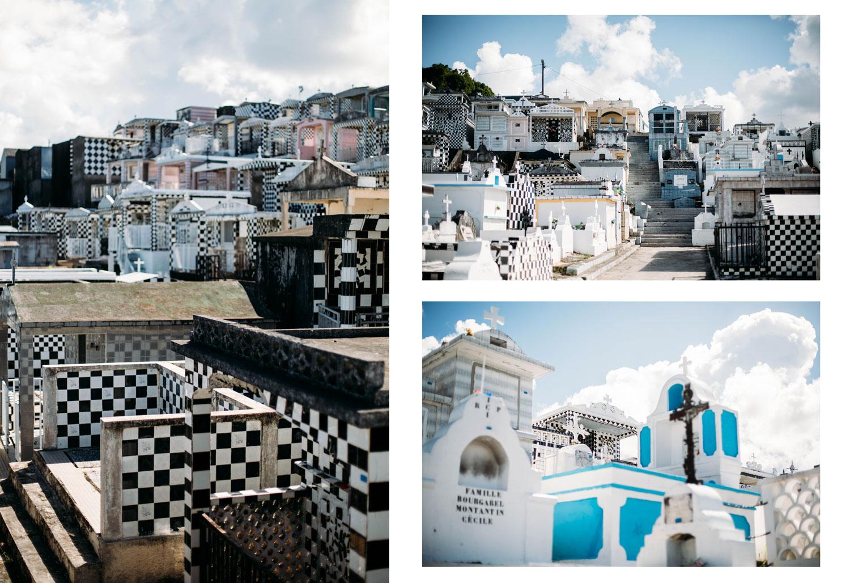 cimetière colorée morne-à-l'eau Guadeloupe