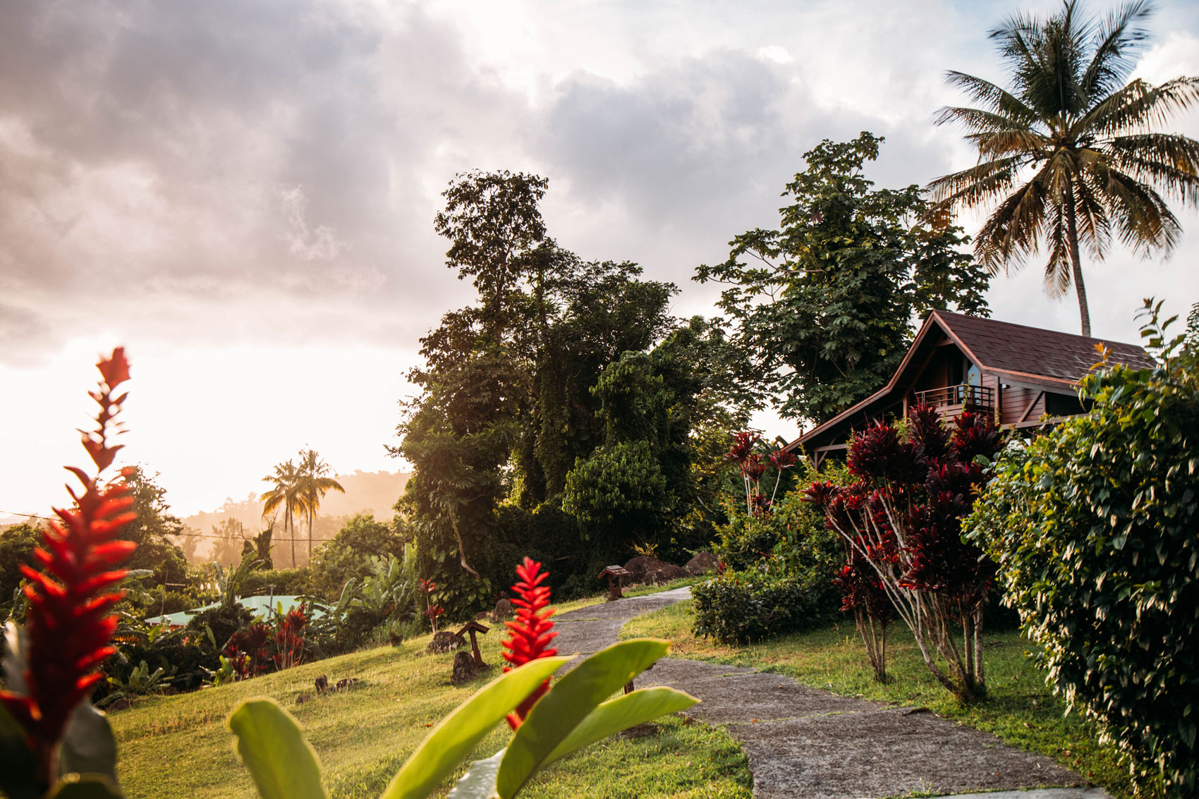cottage créole le jardin malanga Guadeloupe