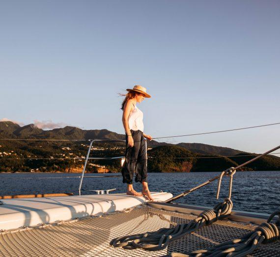 CARAIBES — une croisière de rêve en catamaran dans les îles de Guadeloupe