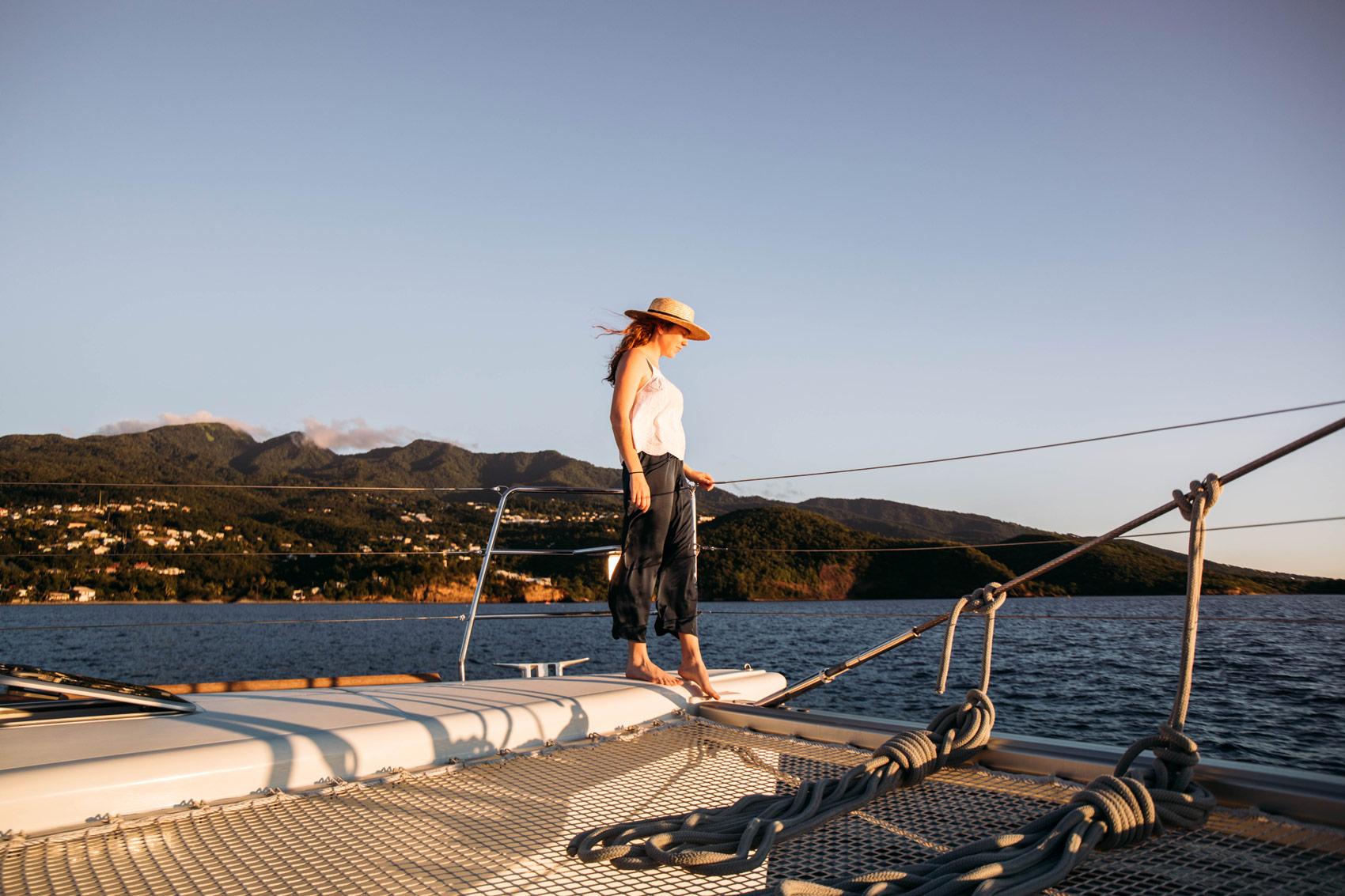 croisière catamaran antilles tout compris