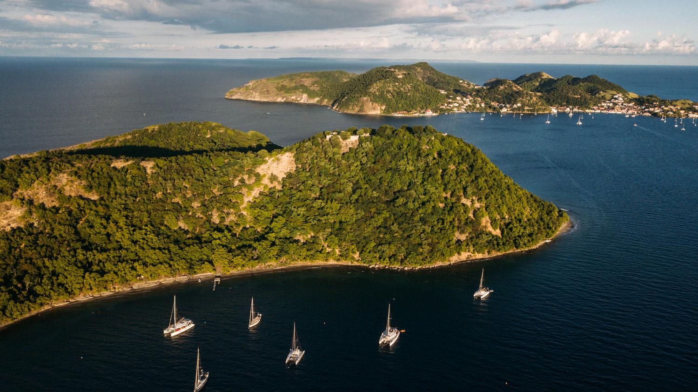 croisière catamaran caraibes archipel saintes