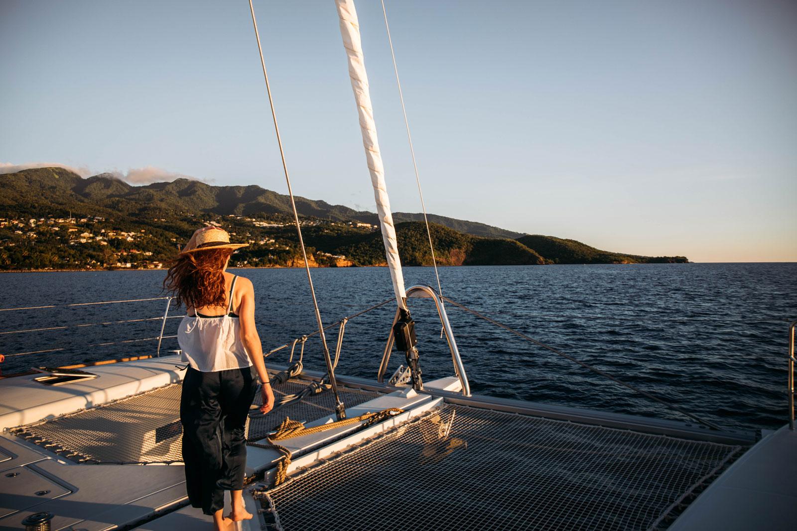 croisière catamaran caraibes globesailor 1