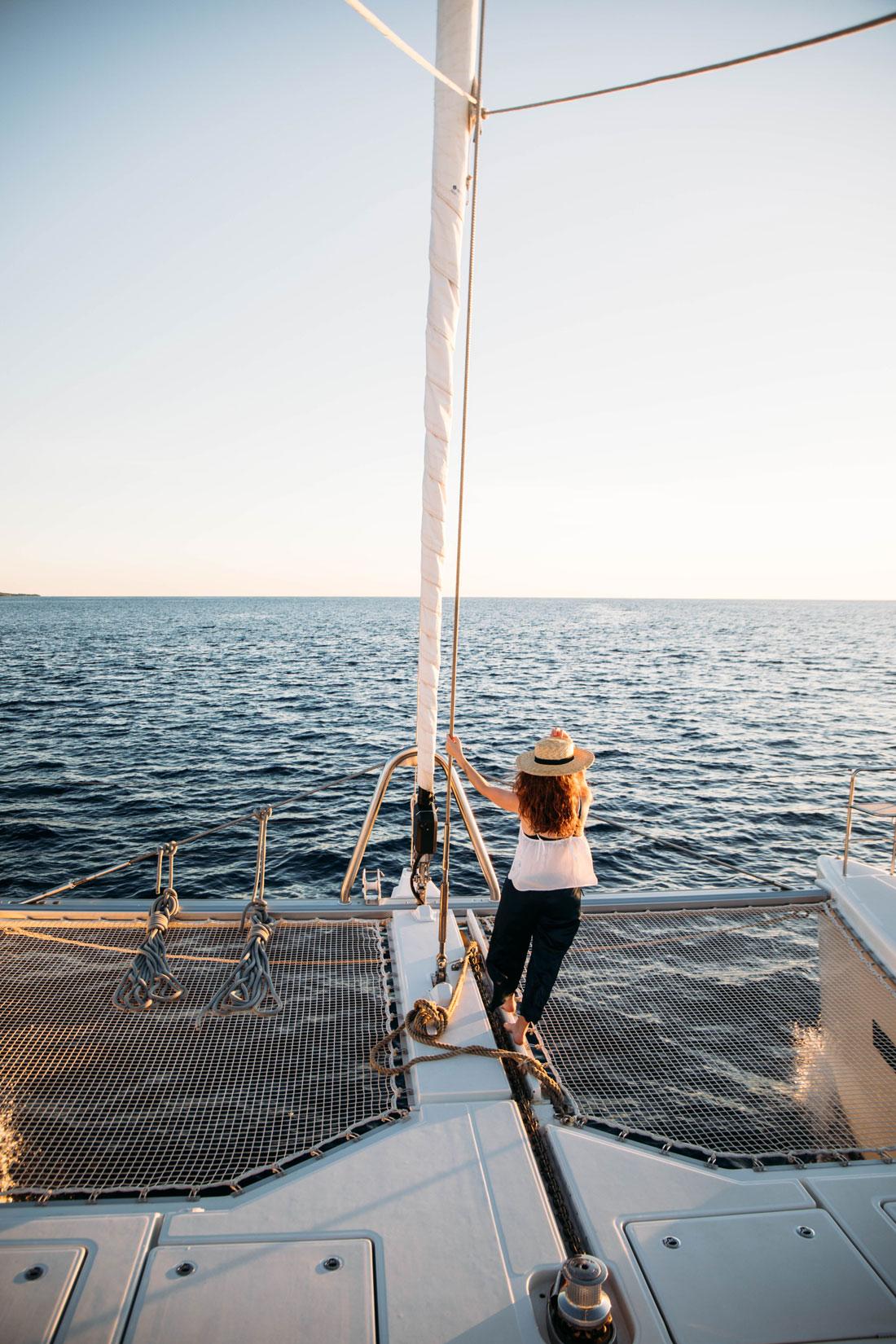 croisière catamaran dans les Antilles
