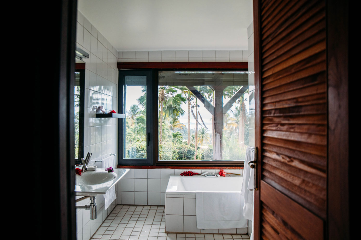 déco moderne hotel Guadeloupe
