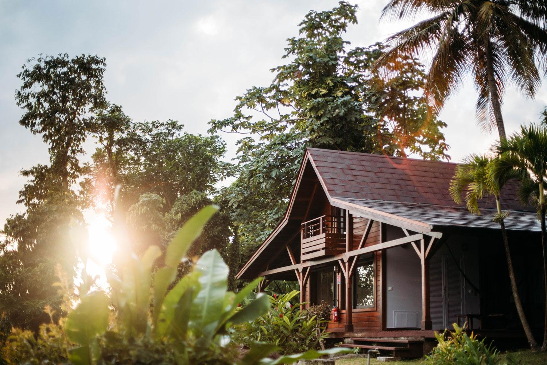 ecolodge de charme en Guadeloupe