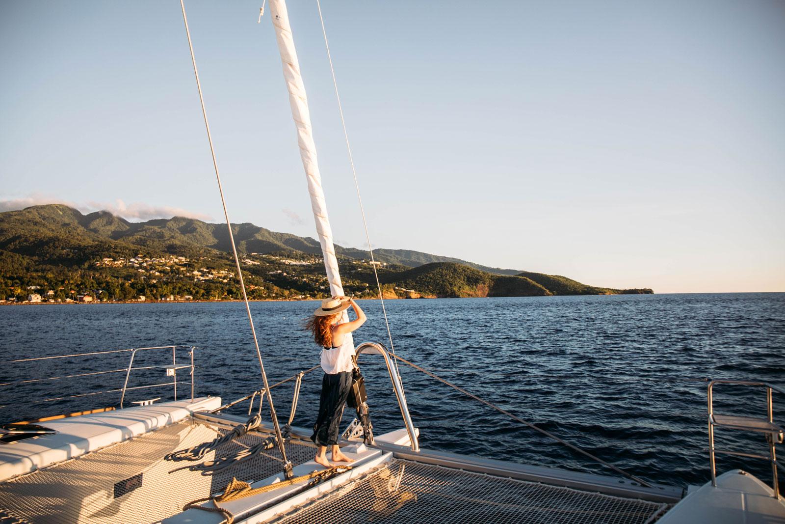 faire une croisière catamaran caraibes tout compris