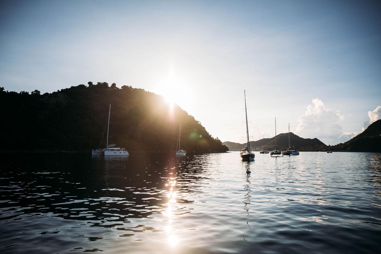 faire une croisière Guadeloupe avec skipper