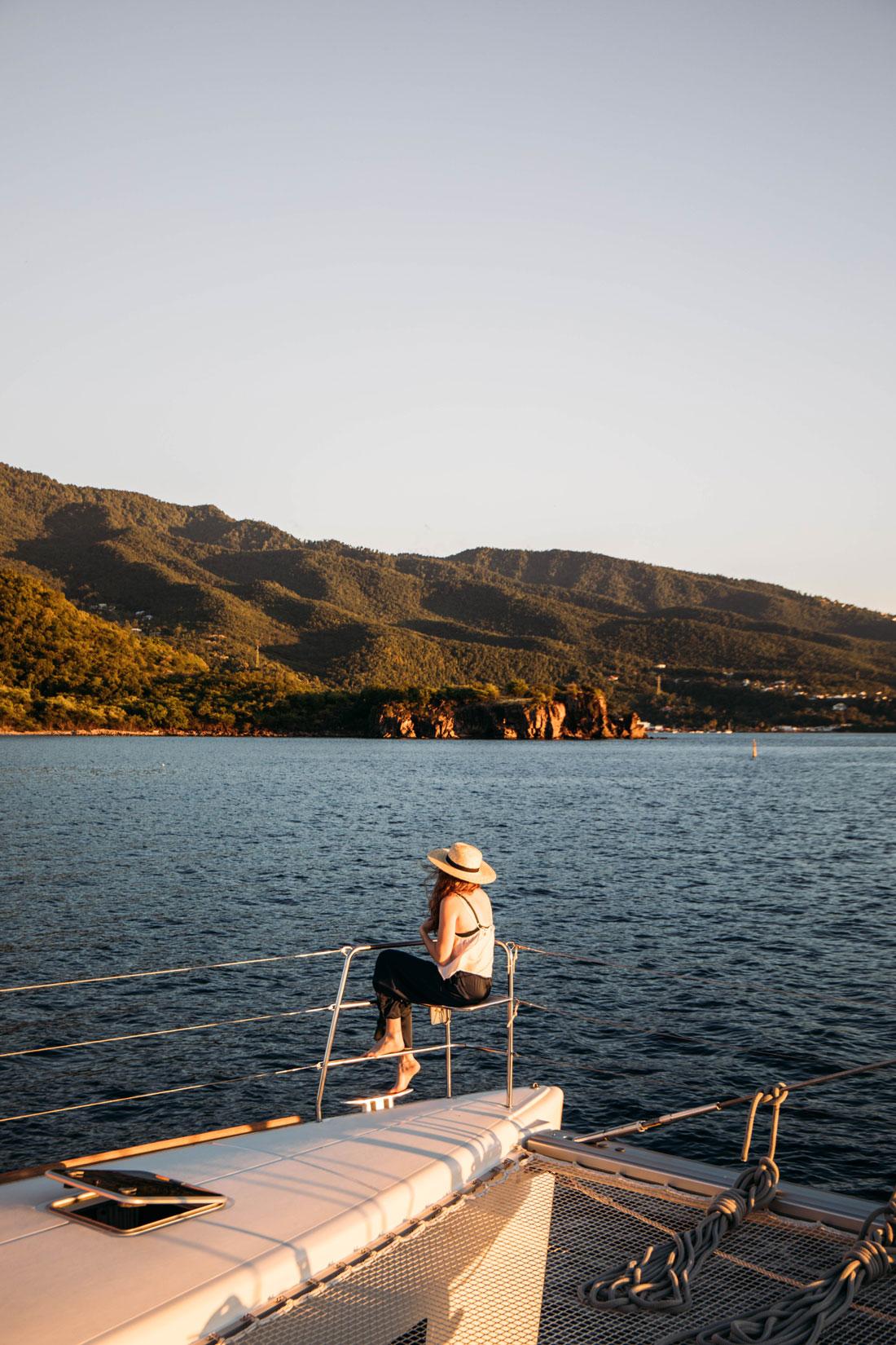 location catamaran Caraibes avec équipage
