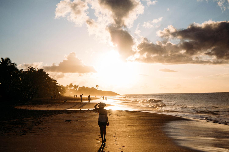 où voir le coucher de soleil en Guadeloupe