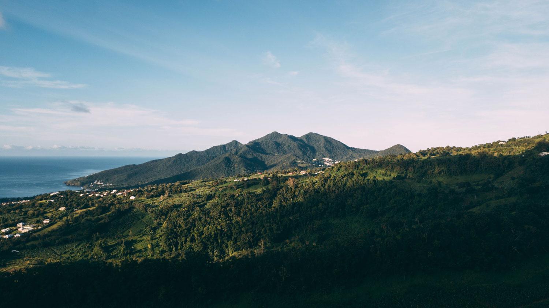 paysage Guadeloupe Trois-Rivières