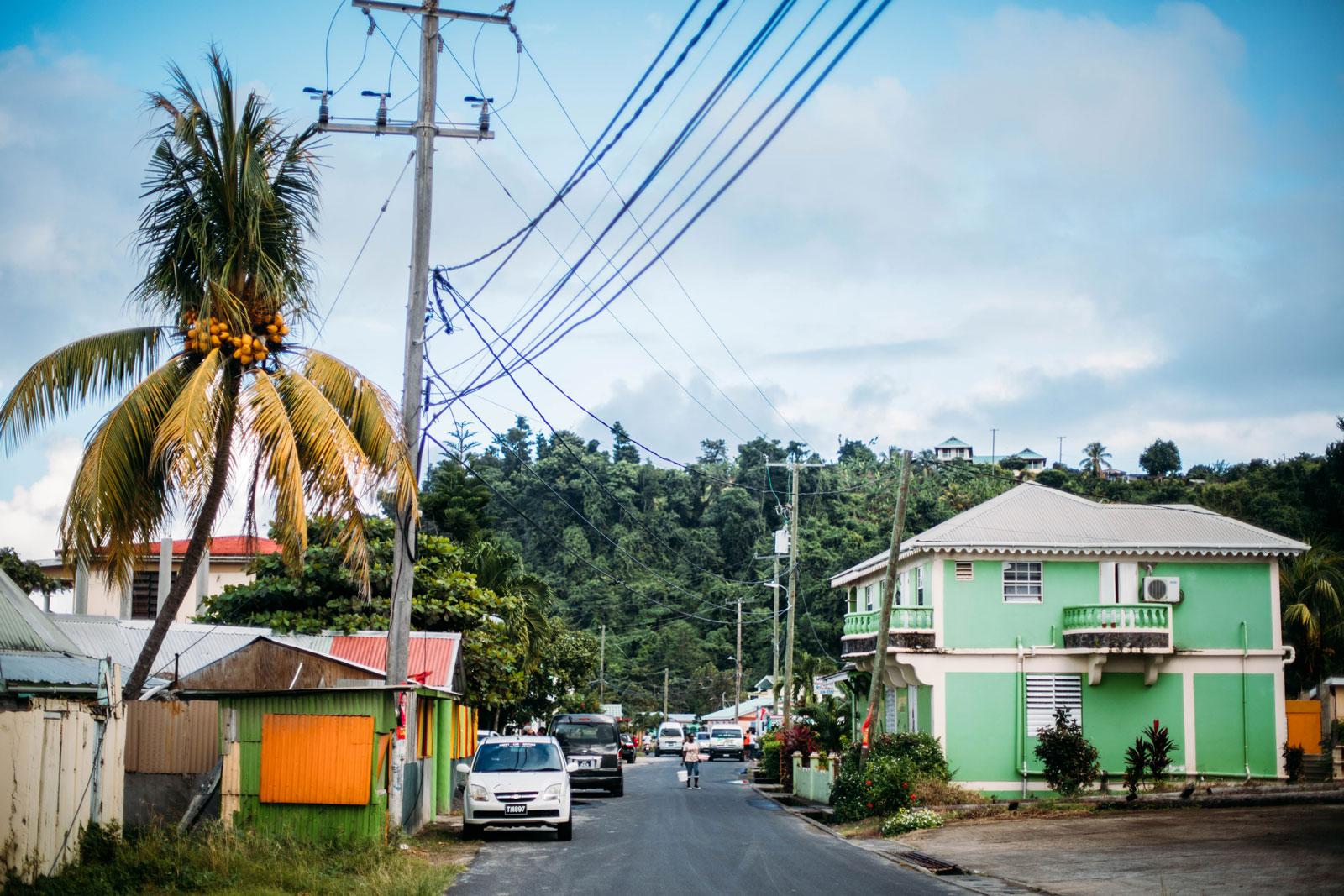 paysages ile de La Dominique