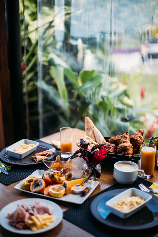 petit-déjeuner jardin Malanga