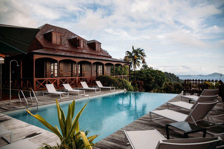 piscine panoramique le Jardin Malanga