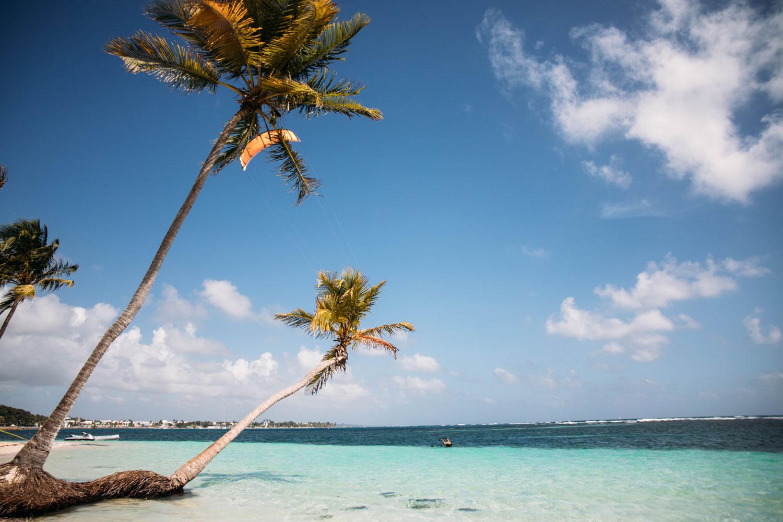 plage de la caravelle club med Guadeloupe