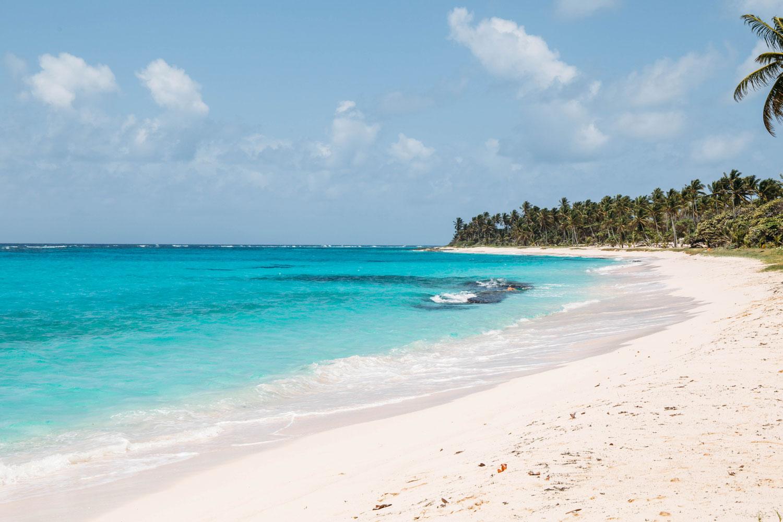 plage feuillière marie-galante