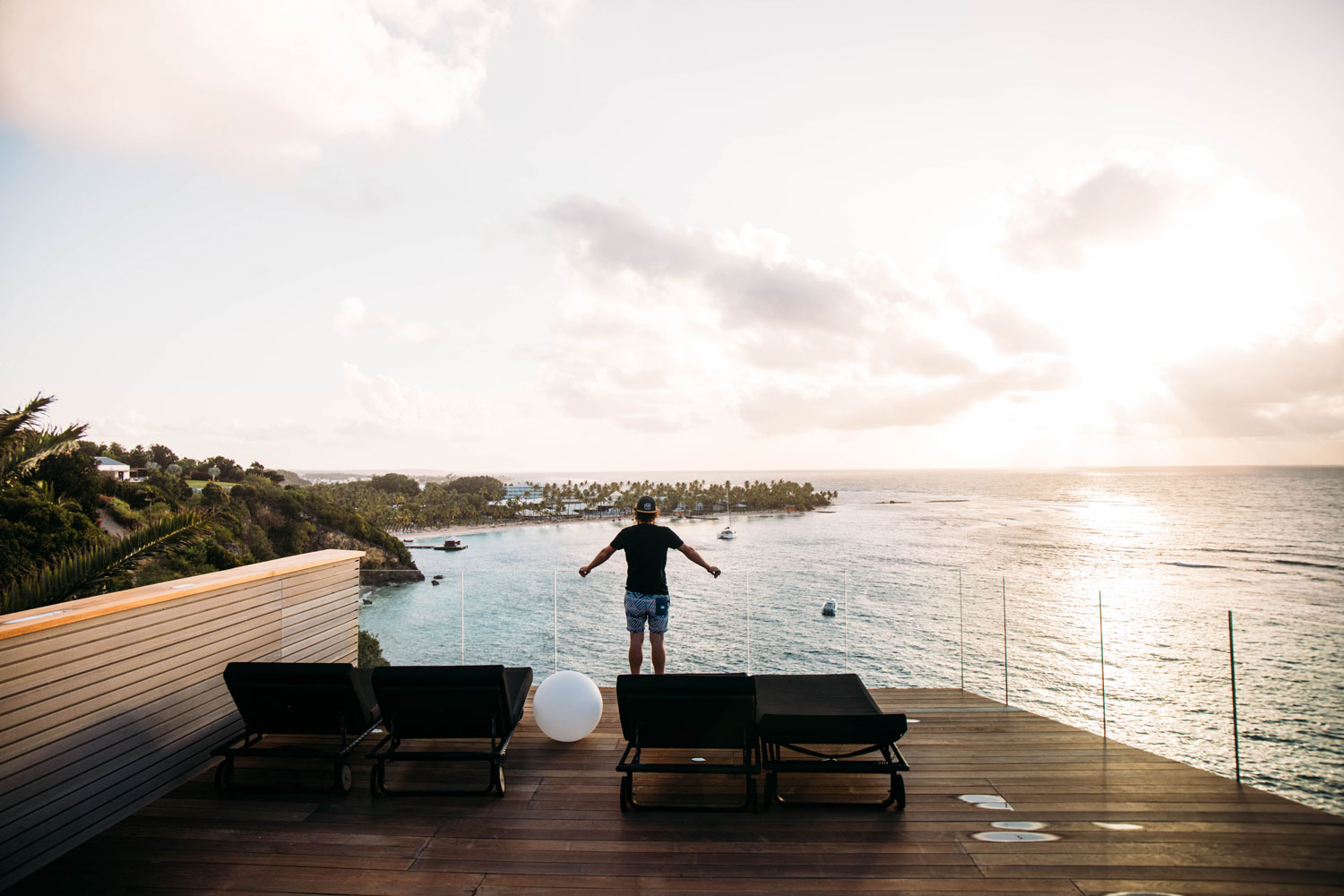 rooftop hotel luxe Guadeloupe