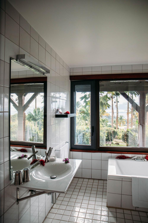 salle de bain cottage jardin malanga