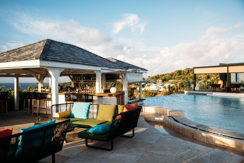 terrasse piscine La Toubana