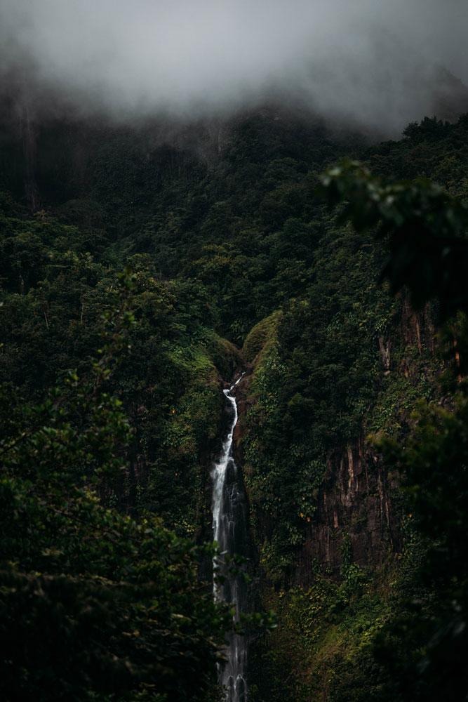 voir les chutes du Carbet Guadeloupe