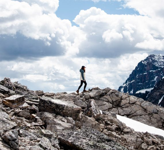 Randonnée Mont Edith Cavell en Alberta
