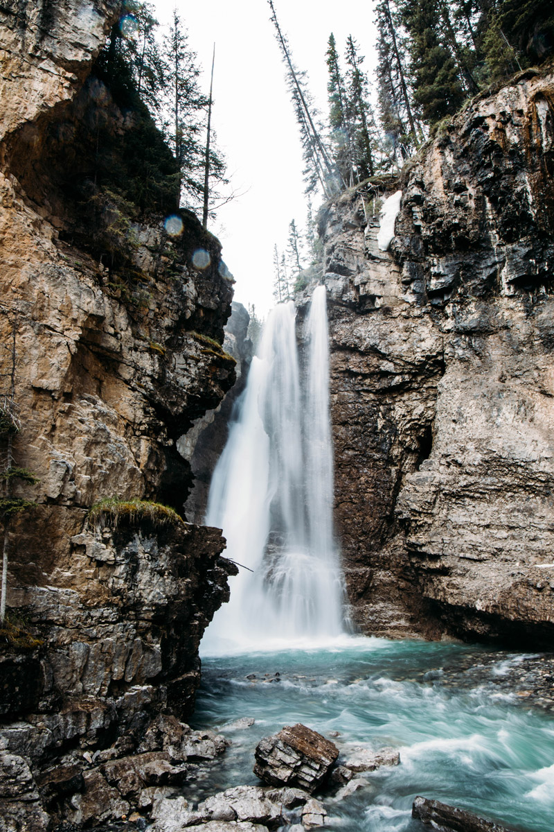 johnston-canyon-parc-national-banff