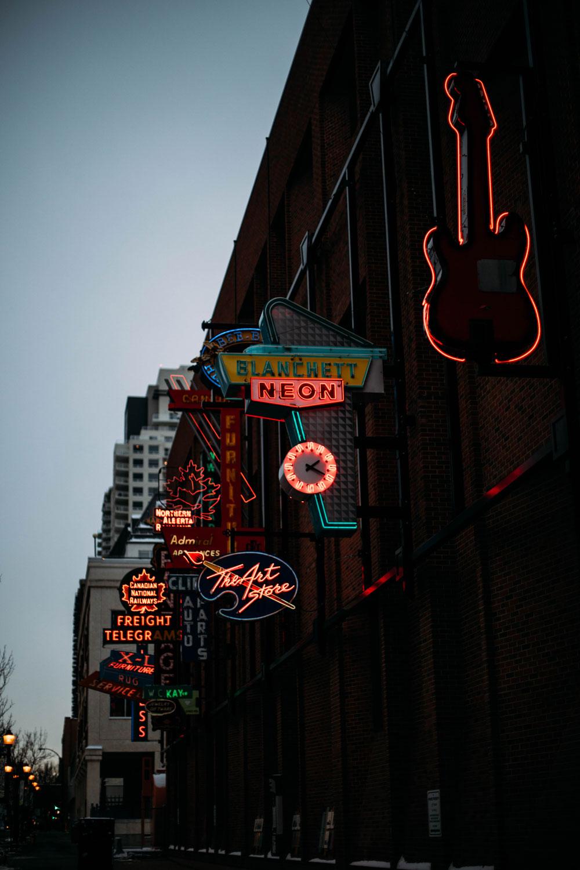 neon sign museum Edmonton Canada