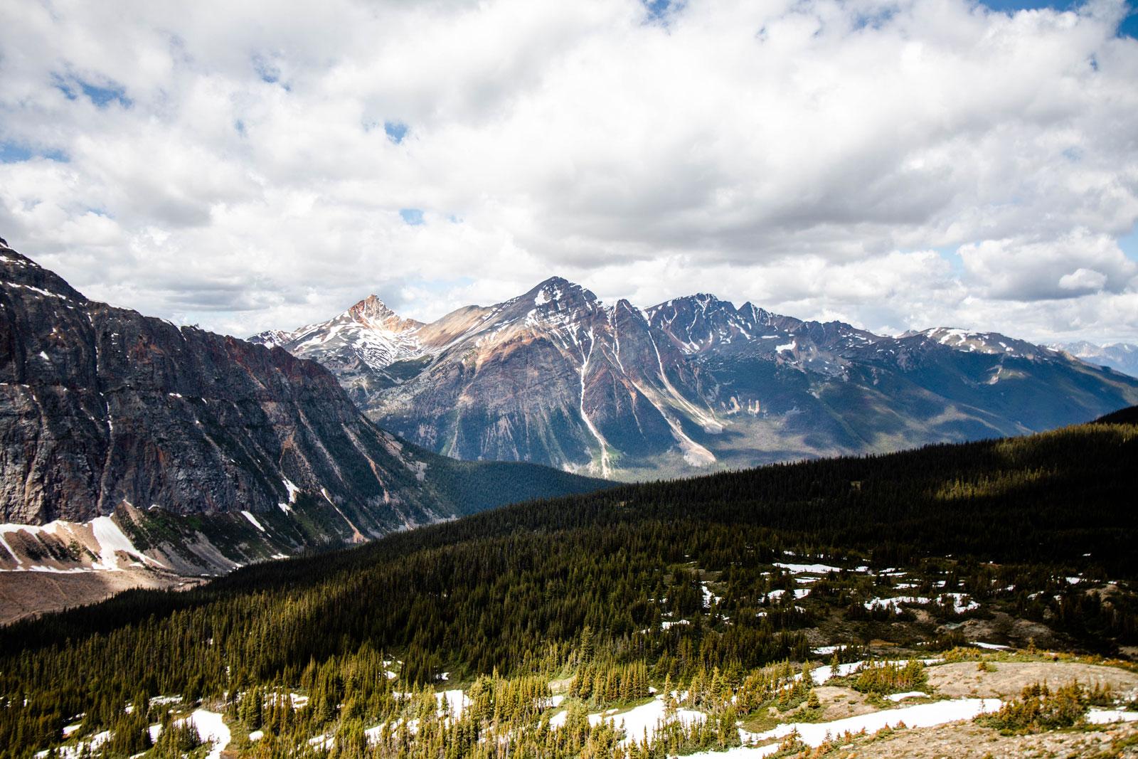 randonnée dans les rocheuses canadiennes blog