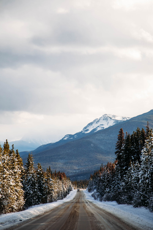 road trip ouest canadien hiver