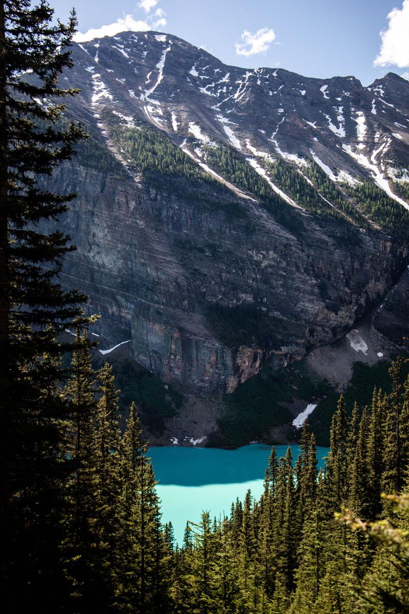 sentier-de-randonnée-lac-louise-alberta