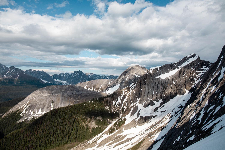smutwood-peak-trailhead-alberta-canmore