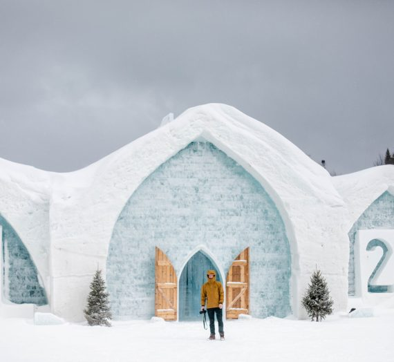 Expérience — (bien) dormir dans l'hôtel de glace de Québec