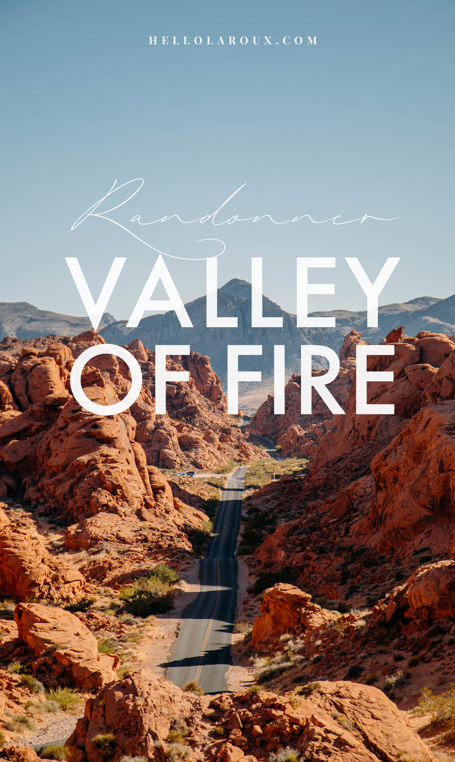 randonner à la valley of fire : guide