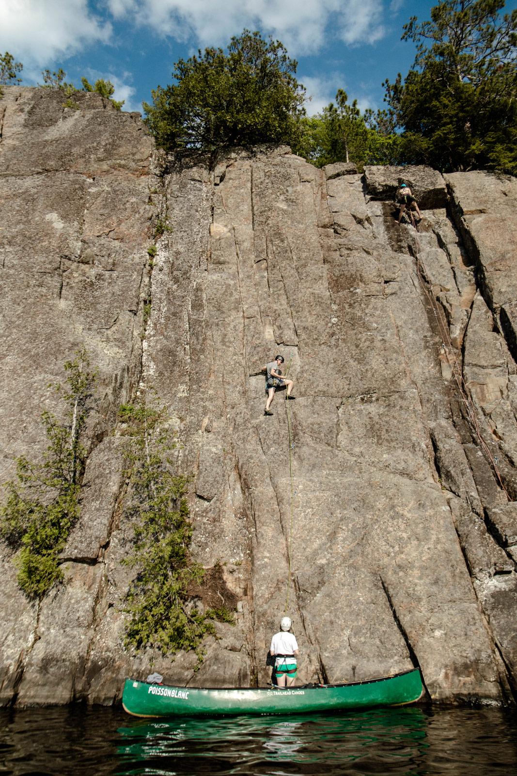 plus beaux spots escalade au Québec