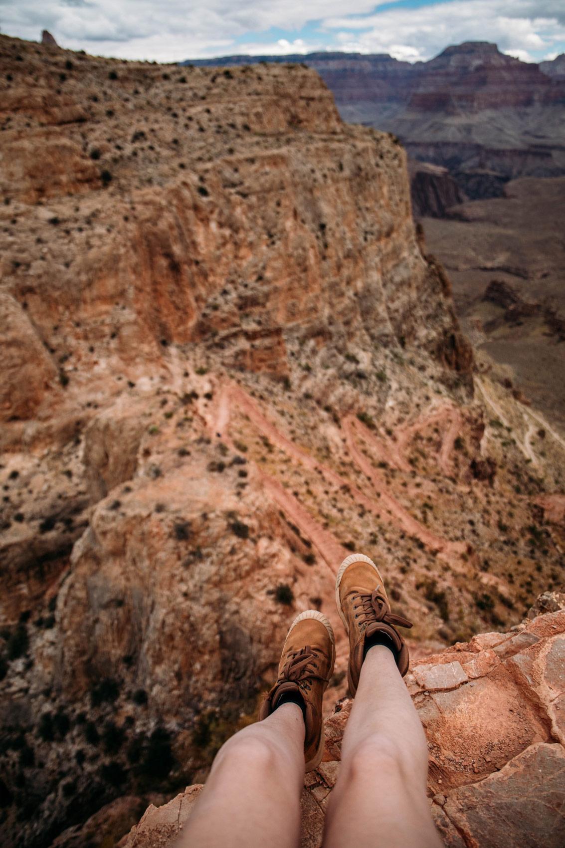 rando ouest américain grand canyon