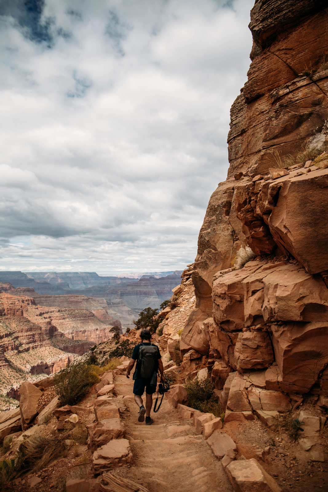 randonner au grand canyon