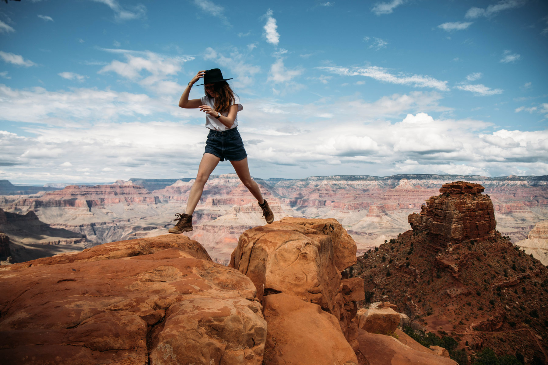 visiter Grand Canyon rando south kaibab