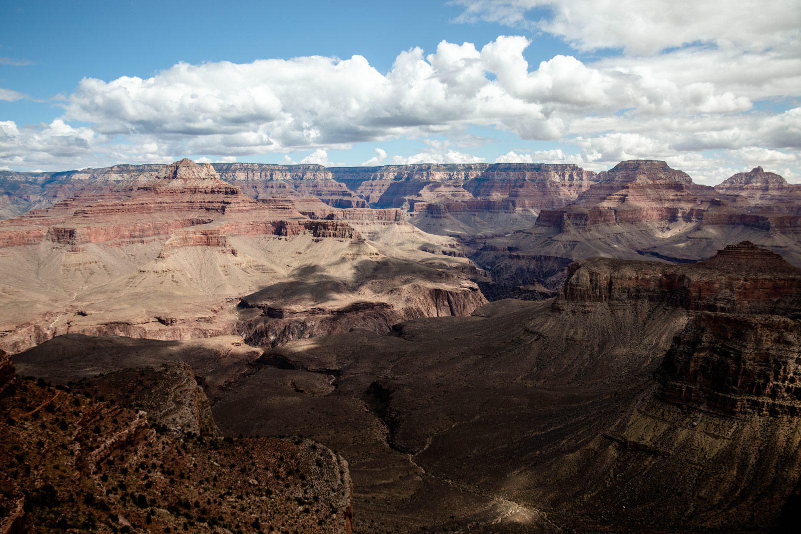 vue panoramique grand canyon depuis cedar ridge