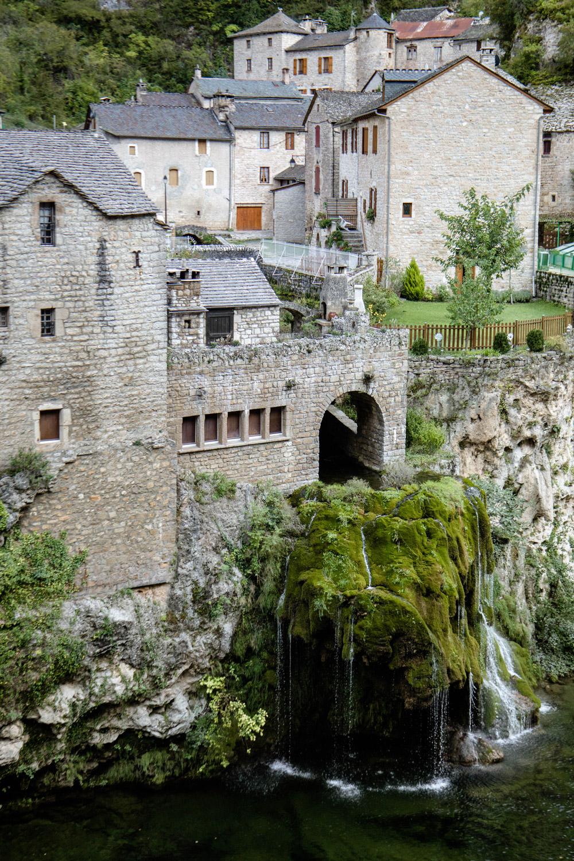 cascade de Saint-Chély