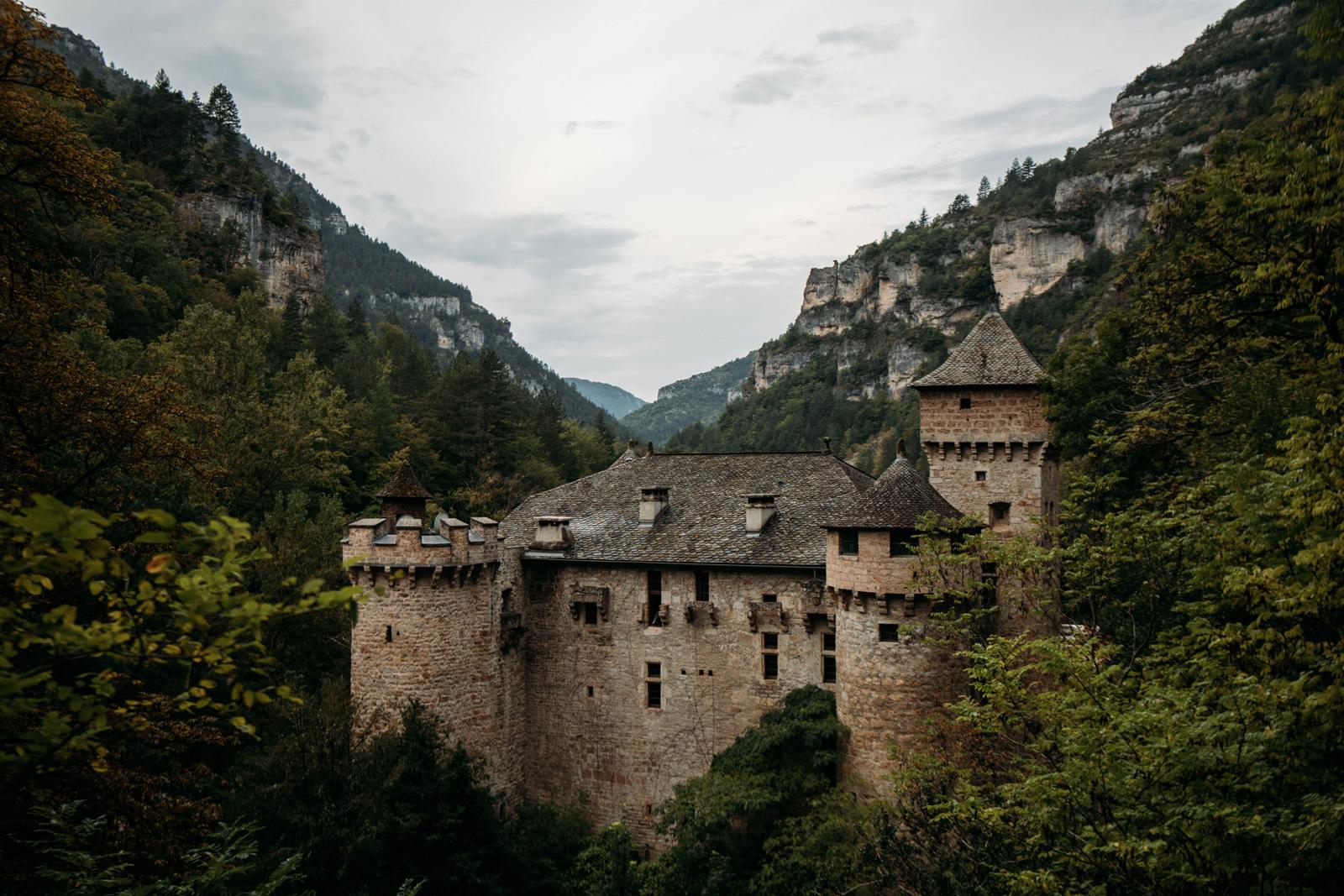 château de la caze en Lozère