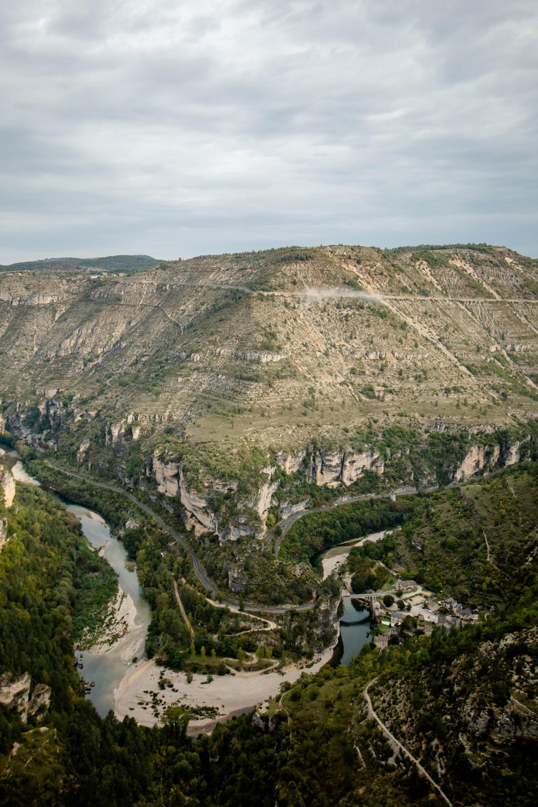 Le Saltadou panorama Saint-chély-du-tarn