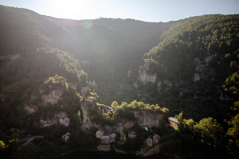les ruines de Castelbouc