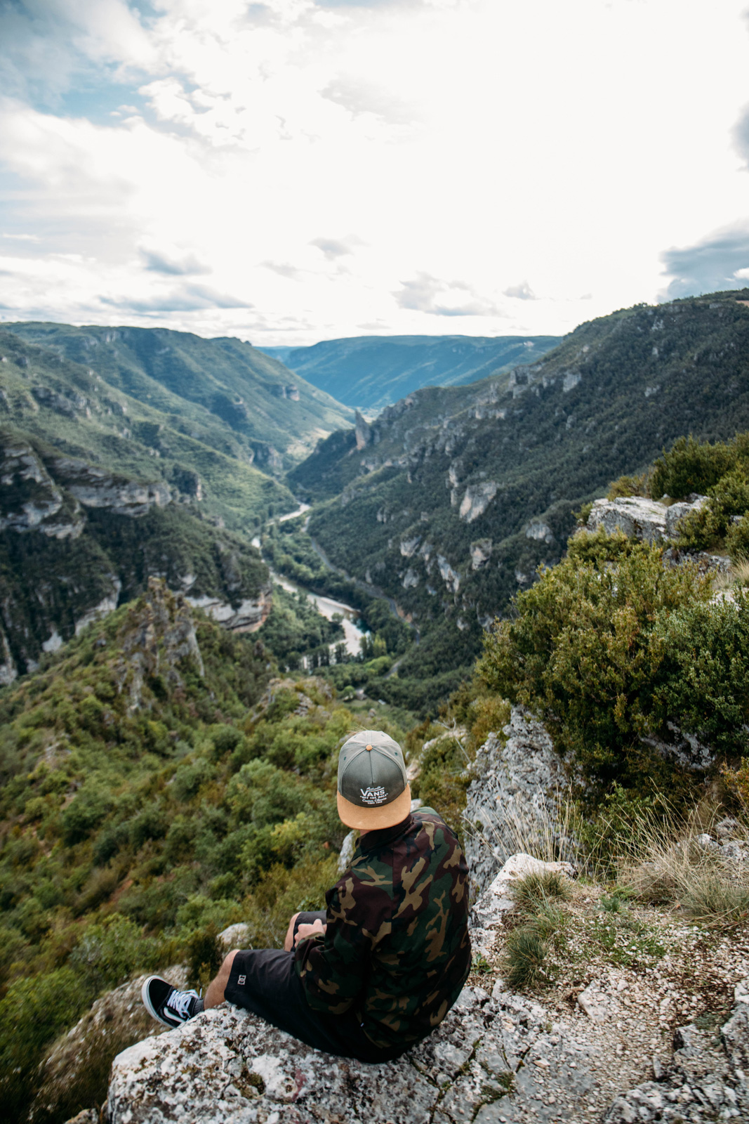 panorama le Point Sublime en Lozère