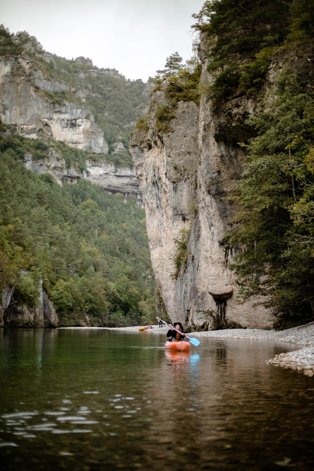 parcours canoe gorges du tarn Lozère