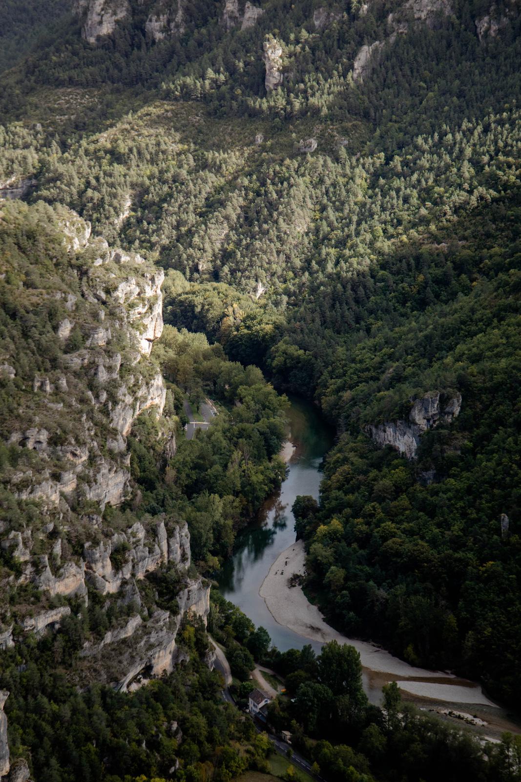 paysages de Lozère : gorges du tarn