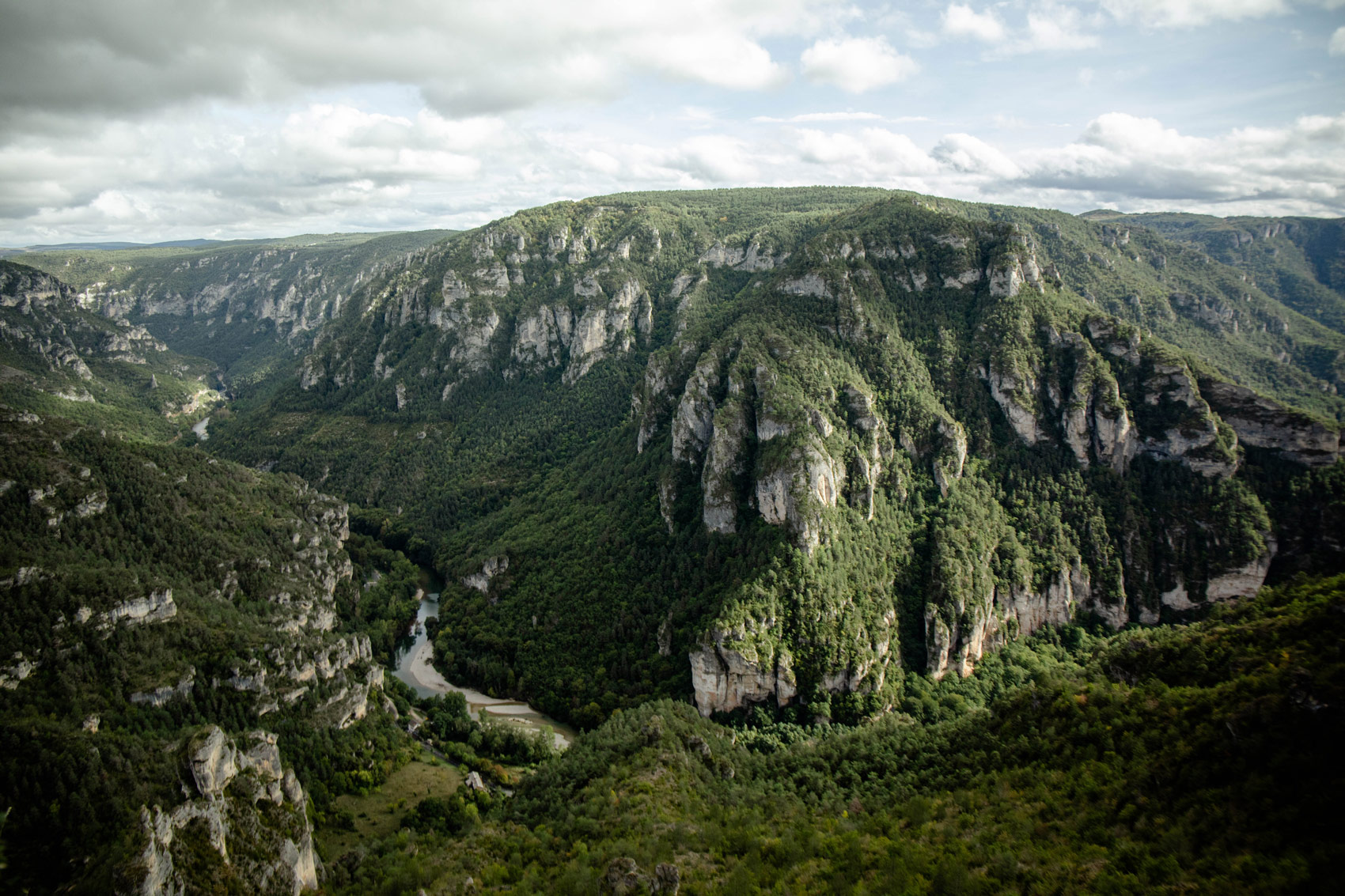 point sublime : plus beaux endroits Gorges du tarn