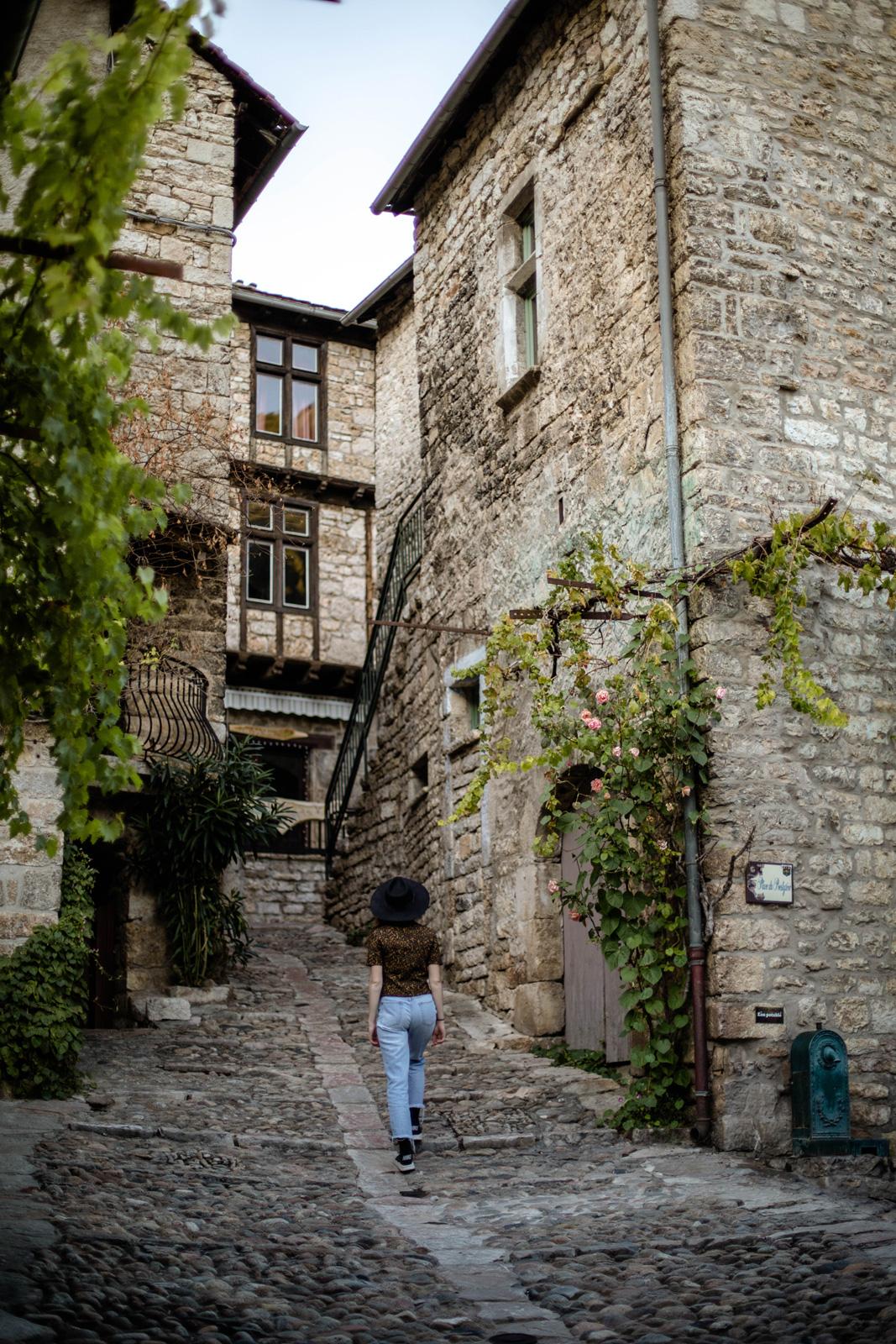 Sainte-Énimie, plus beau village de France et de Lozère