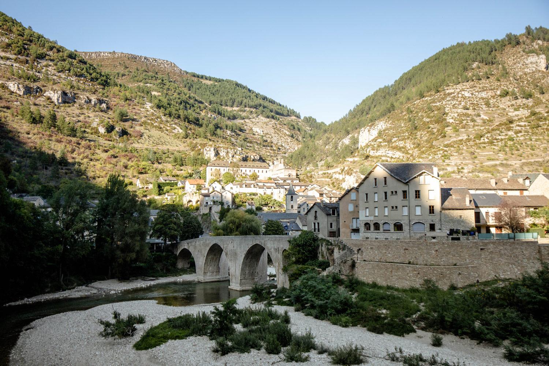 visiter Sainte-Énimie village du tarn