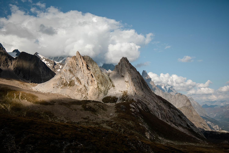 balcon massif du Mont-Blanc coté italien